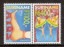 Suriname Zbl Nr 1080/1081   Postfris.