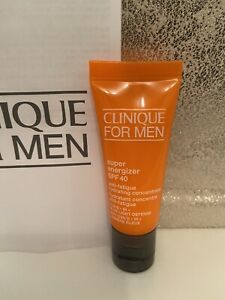 CLINIQUE for Men Super Energizer SPF 40 Hydrating Concentrate, 15ml Travel sz BN