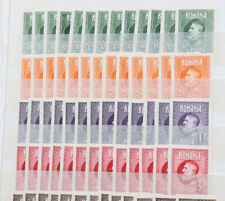 Rumänien Geburtstagsausgabe 1926 ungezähnt ** mehrfach 3.120 Euro