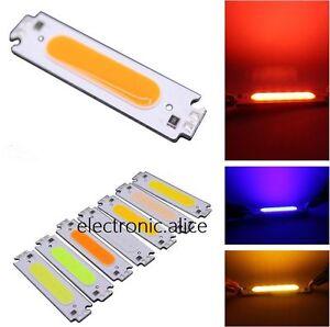 2W White red/green/COB High Power LED Stripe LED Light Emitting Diode Panel 12V