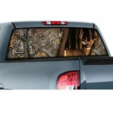 CamoWraps 20 x 66   Window Film Graphics.Whitetail with Realtree Xtra