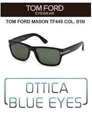Occhiale da sole Tom Ford mason tf 445 01N Sunglasses FT James Bond 007 LUXURY