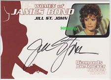 "2003 WOMEN OF JAMES BOND IN MOTION AUTO: JILL ST. JOHN #WA1 AUTOGRAPH ""TIFFANY""A"