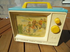 Vintage Fisher Price berceuse musicale TV Toy jouet bébé baby music box n°2