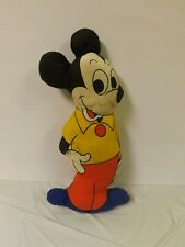 """Vintage Mickey Mouse Stuffed Plush Toy 18"""""""
