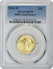 2016-W Standing Liberty Quarter Centennial Gold Coin SP70 PCGS