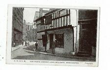POST CARD EARLY PRINTED THE POETS CORNER LONG MILLGATE, MANCHESTER