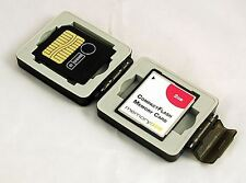 Compact Memory Card Case, Tough and Waterproof for Compact Flash and SD Cards