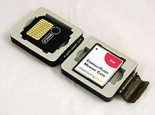 Compacta tarjeta de memoria Funda, Resistente E Impermeable Para Compact Flash Y Tarjetas Sd
