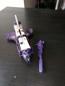 G1 Transformers Decepticon Astrotrain 100% complete