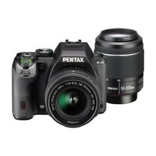 USED Pentax K-S2 with 18-50mm WR and 50-200mm WR Black EXCELLENT FREESHIPPING