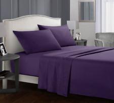 4 piece Comfort Bed Sheet Set Deep Pocket Bed Sheets