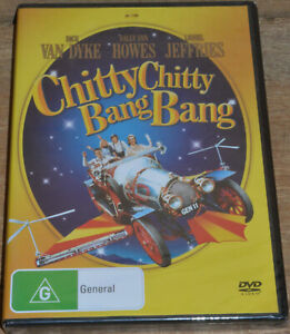 Chitty Chitty Bang Bang (DVD, 2006) - PAL 4 - Sealed - Dick Van Dyke