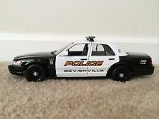 Sevierville Tennessee Police Department diecast car Motormax 1:24 scale