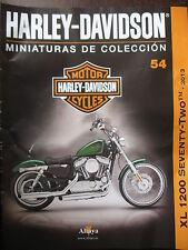 FASCICULE 54  MOTO COLECCION HARLEY DAVIDSON XL 1200 SEVENTY TWO 2013