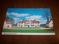 VINTAGE - POST CARD -- WEST FRONT - MOUNT VERNON