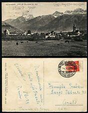 Glorenza Val di Venosta Bolzano Alto Adige Glurns Cartolina Croda di Cengles