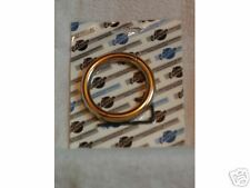 "ONE=  HEAVY DUTY LARGE COPPER & BRONZE BULL NOSE RING 3.5"" x 7/16"""