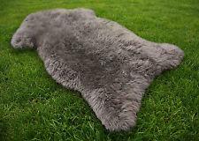 Lammfell Schaffell grau ökologisch gegerbt ca. 100 -110 cm Öko