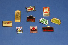 LOT 10 PINS MAGASINS MEUBLES : BUT, HOME SALONS, ATLAS, COSY, SCHMIDT / TB ÉTAT