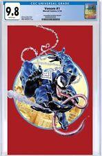 VENOM #1 CGC 9.8 Mike Mayhew KRS Comics Cover C VIRGIN CONVENTION VARIANT