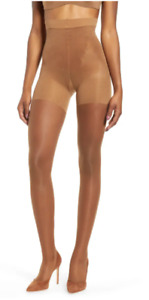 SPANX Women's Flat Tummy Comfort Firm Believer Shaping Sheers Tights Size B