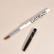 1PC No.10 Detachable Nail Art Acrylic Kolinsky Sable Brush Nail Art Brush Pen