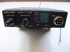 Radio CB Dirland 77-099  sans micro et antenne /ZA12