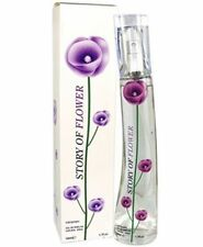 Perfume Para Mujer Historia De Flor Eau de Parfum 50ml Para Damas Púrpura