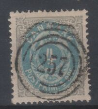 DENMARK Michel 23 (AFA 23) with very nice numeral canc 257 (STRUER-THISTED)