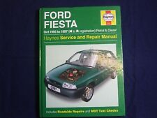 FORD FIESTA 1995 ~ 1997 PETROL & DIESEL HAYNES SERVICE WORKSHOP REPAIR MANUAL