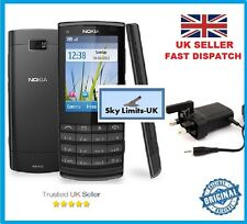 New Condition Classic Nokia X3-02 mobile phone Black Graphite 3G Unlocked Camera