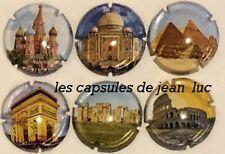 """News !News! Série de 6 nouvelles génériques  Collection """"Monuments""""  JUIN 2019"""