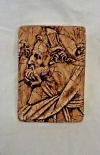 Ancient Greek Roman Portrait Wall Plaques Chalkware Plaster of Paris Wall Art