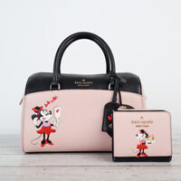 NWT Disney x Kate Spade Minnie Mouse Duffle Bag Satchel &/Or Wallet