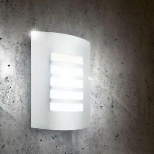 Acciaio Inox Luce da Parete LED 7 Watt Esterno Illuminazione Giardino Lampada
