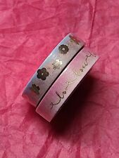 Simply Gilded Words And Flowers Washi Tapes