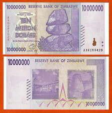 P78   ZIMBABWE / Simbabwe  10 Mio Dollar   2008 UNC