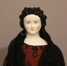 Antique China Doll With Fancy Hairdo