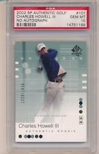 2002 UD SP Charles Howell III Rookie 1323/1499 PSA 10 Missing Autograph