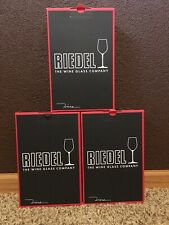 New*Riedel 6pc. Champagne Glass/Glasses*6448/08*Crystal Glass Made in Germany