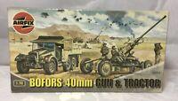 - AIRFIX: A02314 BOFORS 40MM GUN & TRACTOR 1:76 - ORIGINAL BOX - SEALED