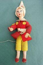 Antico pupazzo pinocchio giocattolo raro pezzo unico vintage