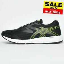 Asics Amplica Mens Running Shoes Fitness Gym Workout Trainers Black