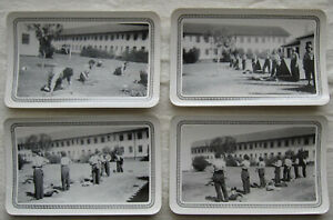 Lot of Vintage Photos*Women in Military Training*uniforms*tents*barracks*1946