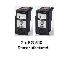 2x PG-510 PG510 ink cartridges for Canon MP230,240,280,282,MP495 MX410 MX360