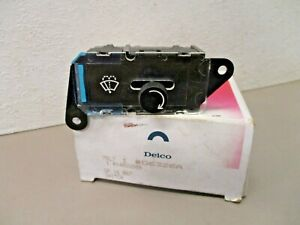 Delco D6326A GM 14028808  Windshield Wiper and Washer Switch  Genuine OEM Part