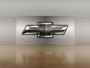Chevy Silver Custom License Plate - Custom Car Tag - License Plate