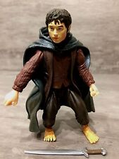 "The Lord of the Rings FRODO with SWORD ATTACK 6"" SCALE ACTION FIGURE Loose"