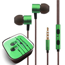 3.5mm Earbuds Earphones Headphones Headsets For iPhone Samsung Galaxy LG HTC MP3